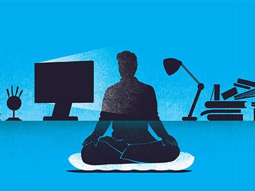 Zintegrowanie medytacji Vipassana z pracą przy komputerze