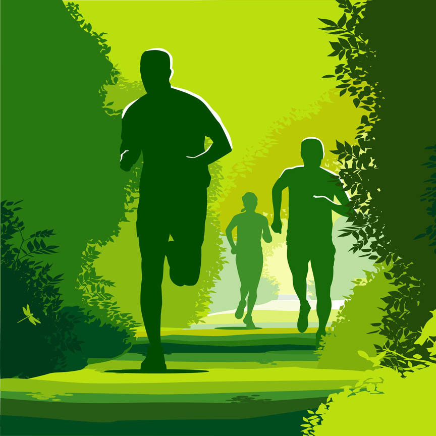 Poranne, uważne bieganie w Trójmiejskim Parku Krajobrazowym
