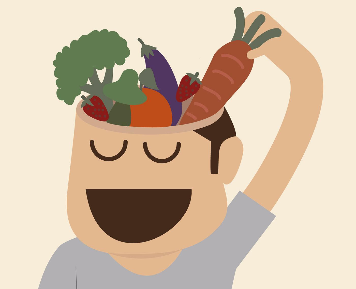 Zrównoważone odżywianie wynikające z wysokiego poziomu świadomości