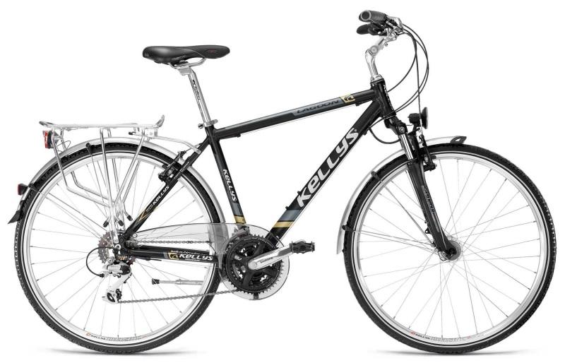 Komfortowi i niezawodny rower trekkingowy z sakwami