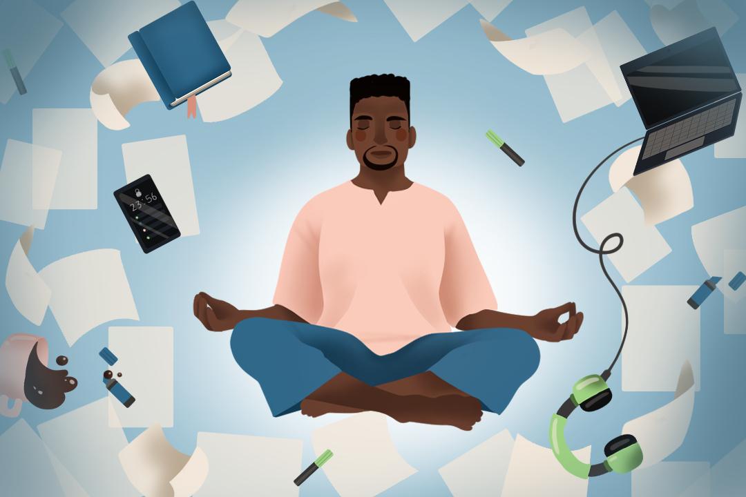 Medytacja - jak poradzić sobie z natłokiem myśli