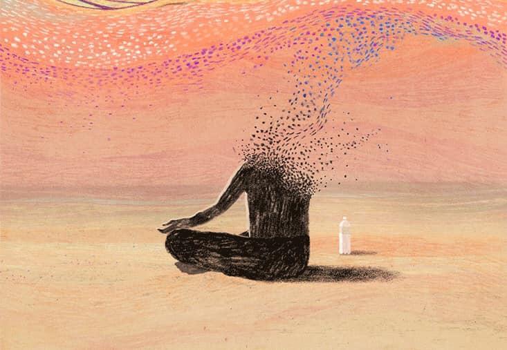 Nawyk codziennej medytacji rano i wieczorem