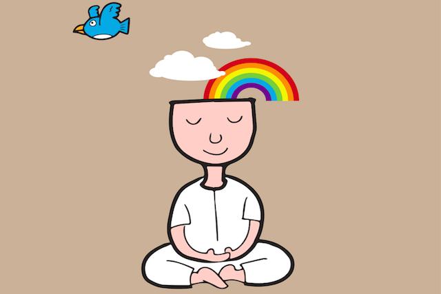 Nawyk pielęgnacji stanu świadomości - utrzymanie kontaktu z  wewnętrzna, bezwarunkową radością