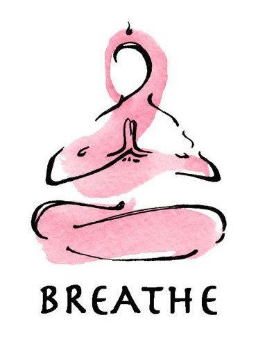 Świadomość oddechu podczas pracy