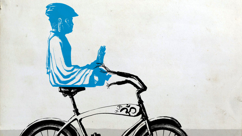 Świadomość i uważność podczas jazdy rowerem