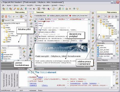 Dobry edytor HTML, CSS, PHP, MySQL, JavaScript