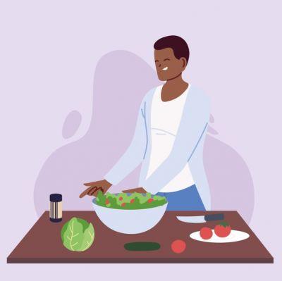 Rozwijanie uważności i cierpliwości podczas przygotowywania śniadania