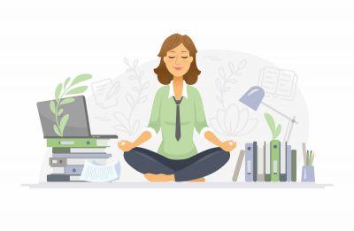 Rozwijanie uważności i świadomości ciała i umysłu podczas pracy przy komputerze