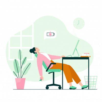 Spadek energii i entuzjazmu do działania - obserwacja apatii i niechęci