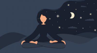 Wieczorna medytacja przed snem - retrospekcja i rozwijanie wdzięczności